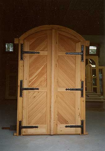 Borospince ajtók